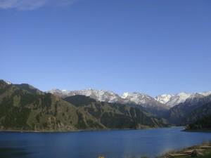 Kina er ikke bare rismarker, men også vakkert fjellandskap.