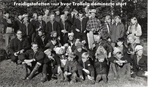 Trollelg dominerte Freidigstafetten 1969